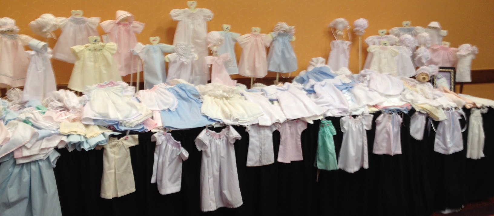 2013 SAGA Convention - Wee Care Gowns - Lone Star Smockers